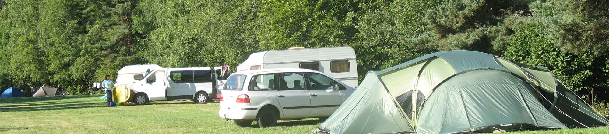 emplacement camping lozerer