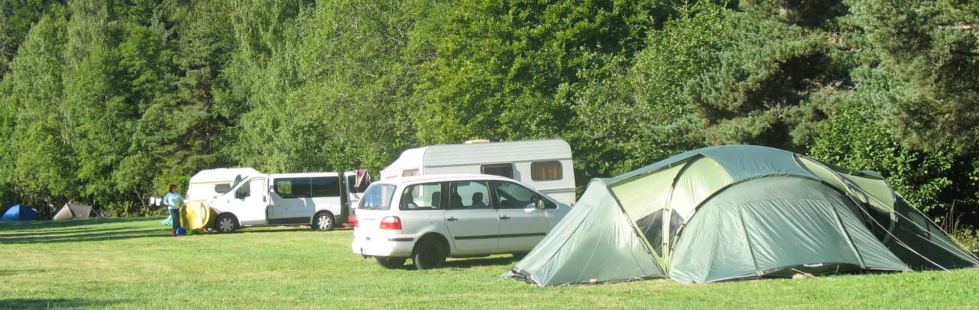 emplacement camping langogne lozere