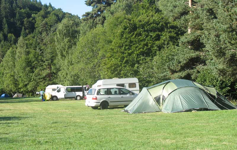 emplacement camping lozere